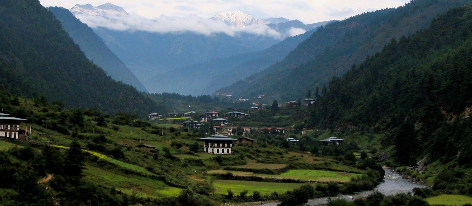 Reiseziel Haa Valley Bhutan