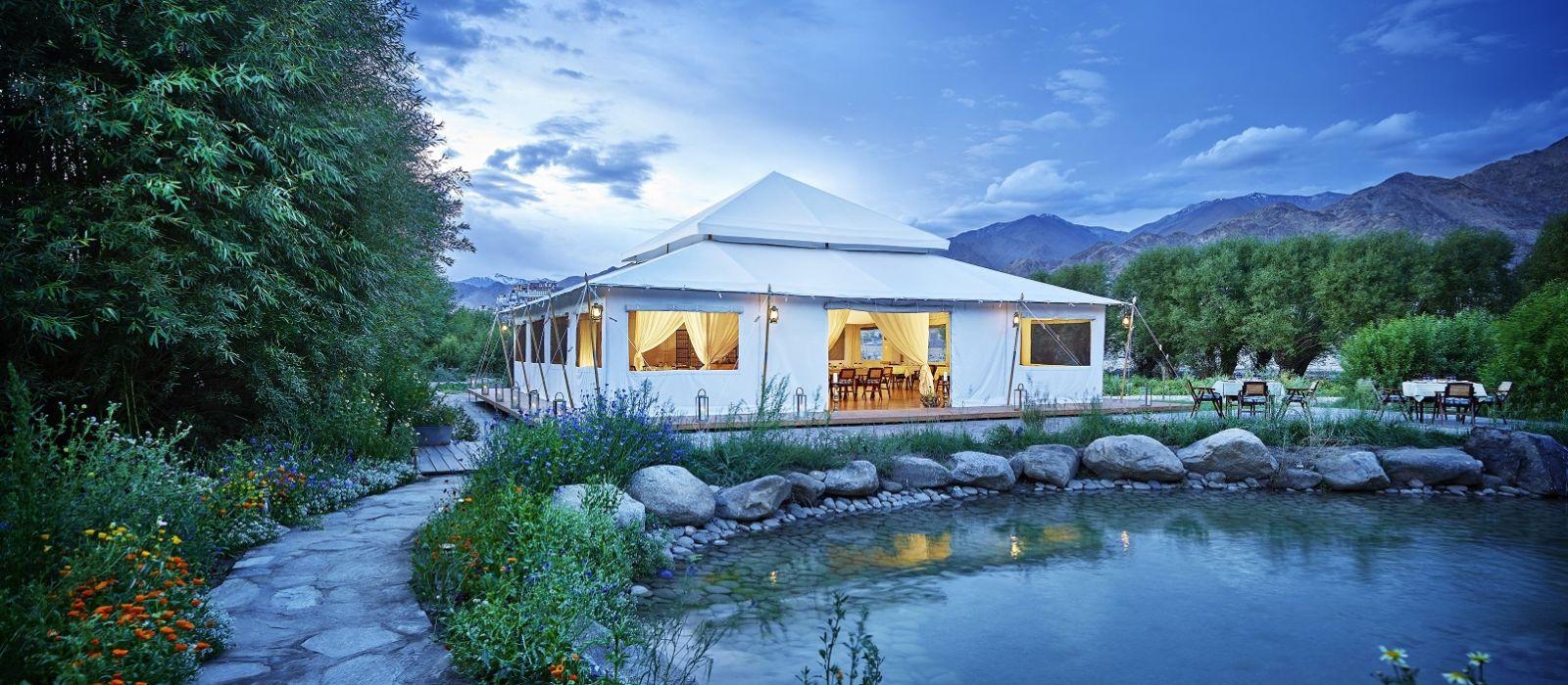 Schlafen unter Sternen auf dem Dach der Welt – Himalaya Luxusreise Urlaub 1