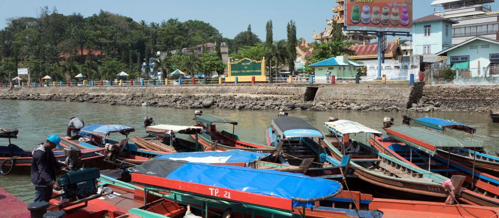 Destination Kawthaung Myanmar