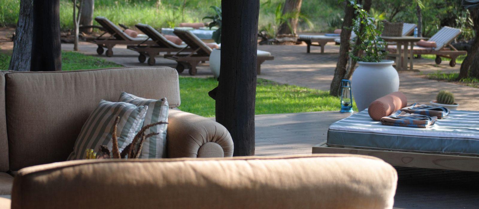 Hotel Thornybush Chapungu Luxury Tented Camp Südafrika