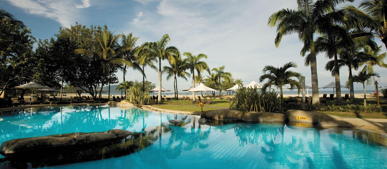 Shangri la rasa ria resort spa hotel in malaysia Hotel near mall of asia with swimming pool