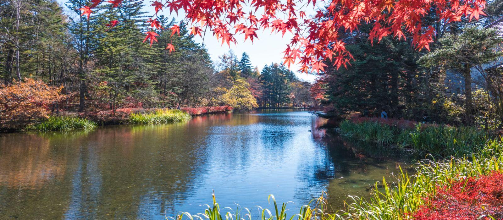 Reiseziel Karuizawa Japan