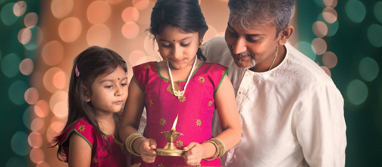 Das Fest der Lichter: Diwali in Indien Urlaub 1