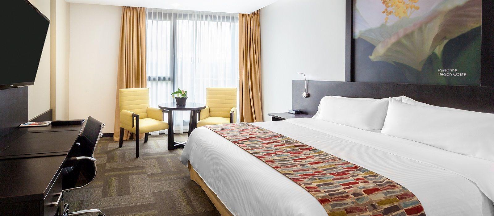 Wyndham quito airport hotel in ecuador galapagos for Design hotel quito