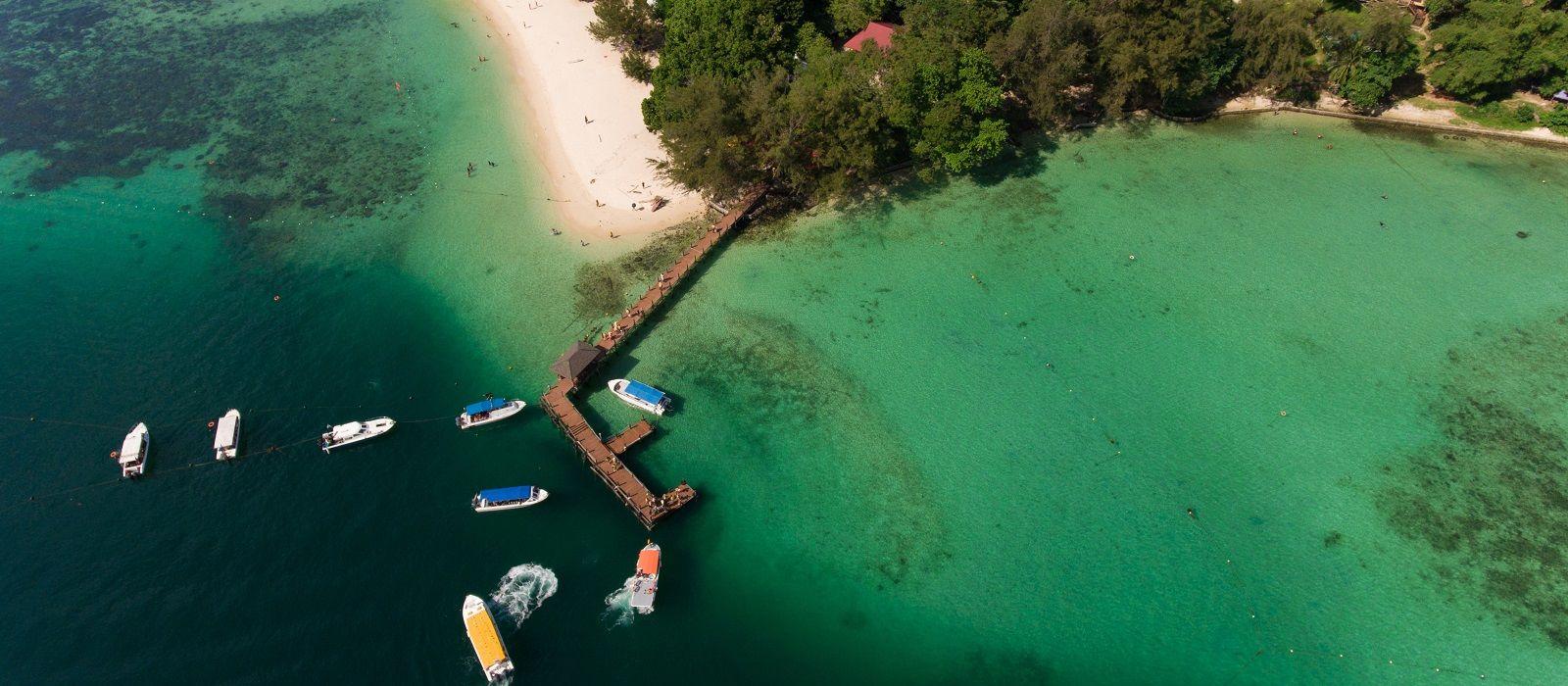 Wildnis und Strände Malaysias Urlaub 4