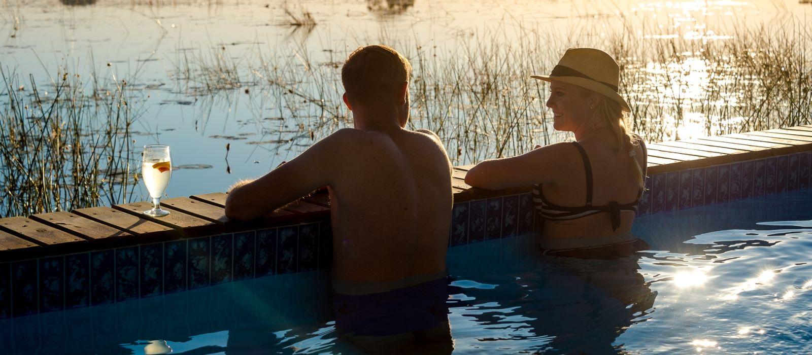 Hoch über Botswana: Safari-Angebot Urlaub 3
