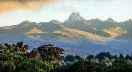 Reiseziel Mount Kenya Kenia