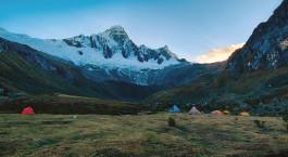 Reiseziel Cordillera Blanca Peru
