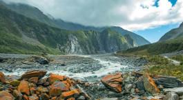 Reiseziel Fox-Gletscher Neuseeland