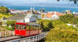 Reiseziel Wellington Neuseeland