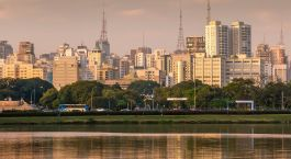 Destination São Paulo Brazil