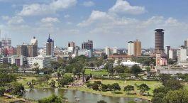 Reiseziel Nairobi Kenia
