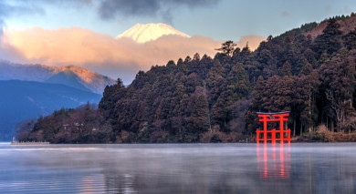 Example private tour: Luxury Japan and Mount Fuji