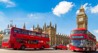 Example private tour: Road Trip: Highlights of England