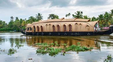 Empfohlene Individualreise, Rundreise: Kerala-Reise: Backwaters, Teeplantagen & Strand