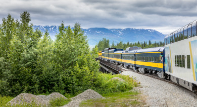 Example private tour: Alaska: Rail Adventure