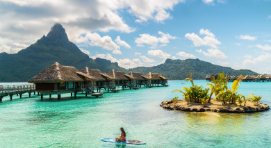 Example private tour: Secrets of the South Pacific: Tahiti, Bora Bora and Blue Lagoon