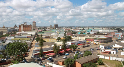 Destination Lusaka in Zambia