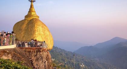 Kyaiktiyo in Myanmar