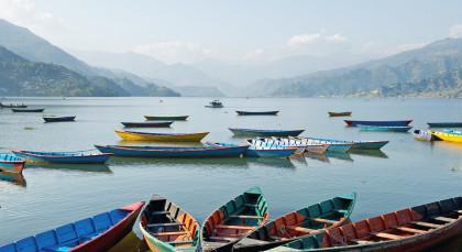 Destination Pokhara in Nepal