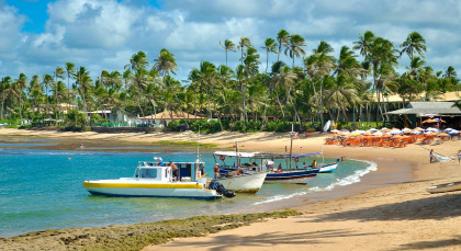 Praia do Forte in Brasilien