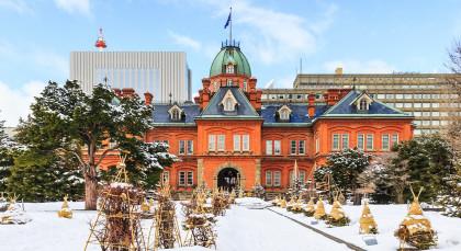 Destination Sapporo in Japan