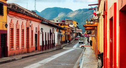 Destination San Cristobal de las Casas in Mexico