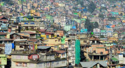 Kalimpong in Ostindien
