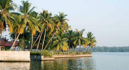Reiseziel Kumarakom in Südindien