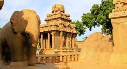 Reiseziel Mamallapuram in Südindien