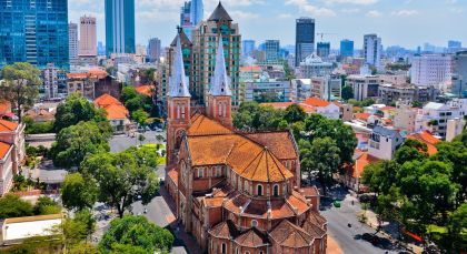 Reiseziel Ho Chi Minh Stadt (Saigon) in Vietnam