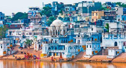 Destination Pushkar in North India