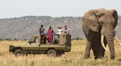 Destination Meru National Park in Kenya