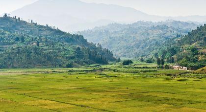 Kigali in Ruanda