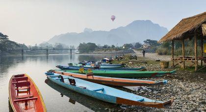 Huay Xai / Mekong in Thailand