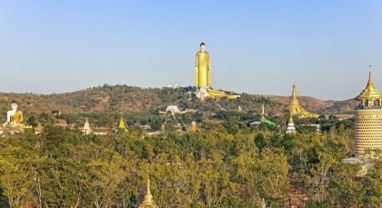 Destination Monywa in Myanmar