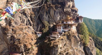 Destination Paro in Bhutan