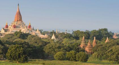 Reiseziel Bagan in Myanmar