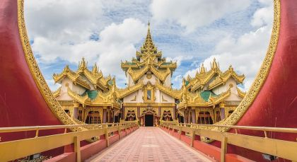 Reiseziel Yangon in Myanmar