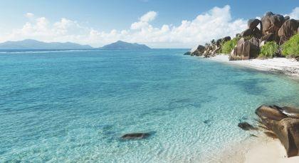 Silhouette Island in Seychellen