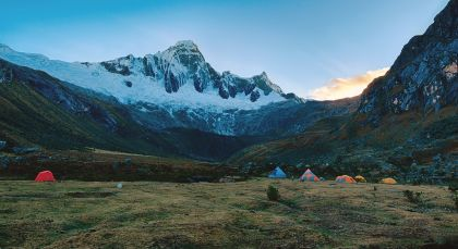 Destination Cordillera Blanca in Peru