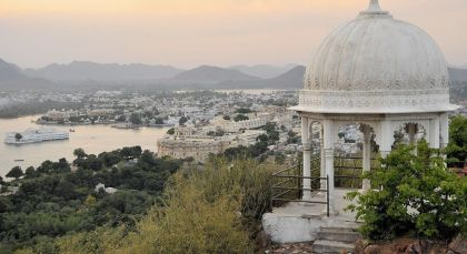 Destination Udaipur in North India