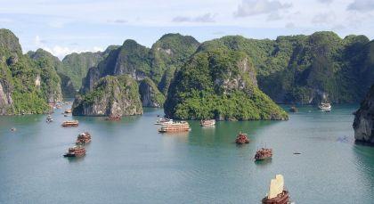 Halong Bucht in Vietnam