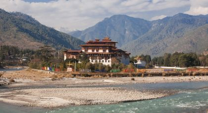 Destination Punakha in Bhutan