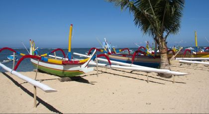 Sanur in Indonesien
