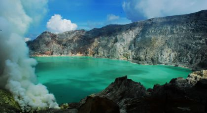 Destination Ijen in Indonesia