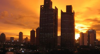 Jakarta in Indonesien