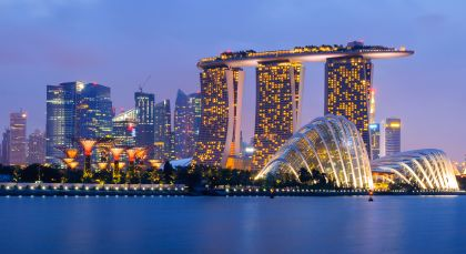 Destination Singapore in Singapore