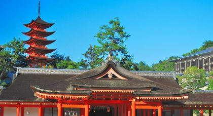 Destination Miyajima in Japan