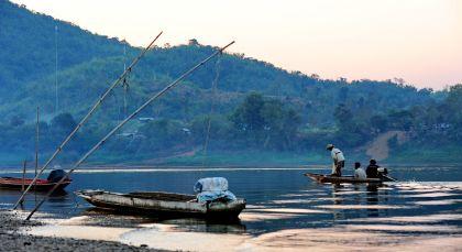 Chiang Khong in Thailand